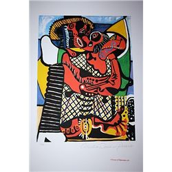 Limited Edition Picasso - The Embrace - Collection Domaine Picasso