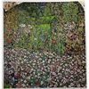 Gustave Klimt GARDEN LANDSCAPE WITH HILLTOP  Signed Limited Ed. Lithograph