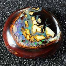 5.89 Ct. Brilliant Natural Multi Color Ridge Matrix Bou