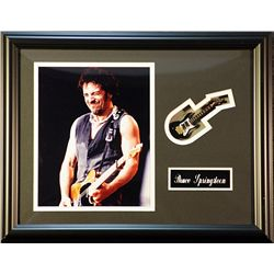 Bruce Springsteen   Giclee with mini guitar