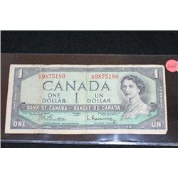1954 Canada $1 Foreign Bank Note