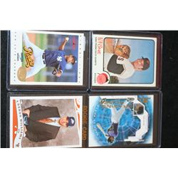 MLB & NBA Trading Cards; Various Dates, Players & Teams; Lot of 4