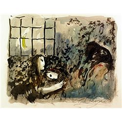 Renoux Hand Signed Limited Edition Lithograph   Bistrot Vivienne