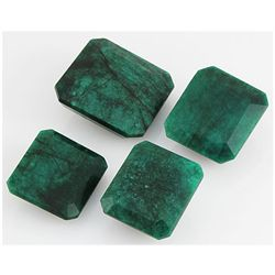 Emerald 510.5ct Loose Gemstone Mix Sizes Square Cut