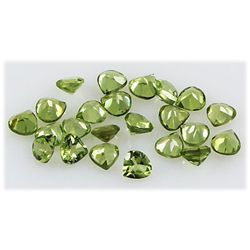 Peridot 6.19 ctw Loose Gemstone 4x4mm Pear Cut