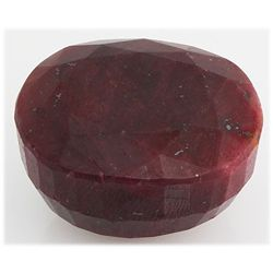 Ruby 253ct Loose Gemstone 35x28mm Oval Cut