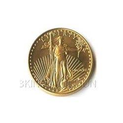 Uncirculated One-Tenth Ounce 1990 US American Gold Eagl