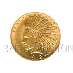 $10 Indian Almost Uncirculated Early Gold Bullion