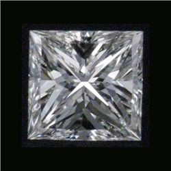 Certified Princess Diamond 0.51Carat E, VVS1 GIA