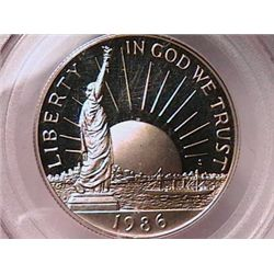 1986-S Statue of Liberty Half Gem Pf69 Deep Cameo PCGS