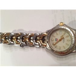 TAG HEUER Ladies Chronograph Professional 200m Gold/SS