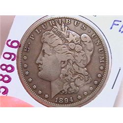 1894-S Morgan Dollar F12