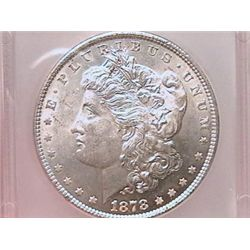 1878 7/8 TF Morgan Dollar MS63 ICG