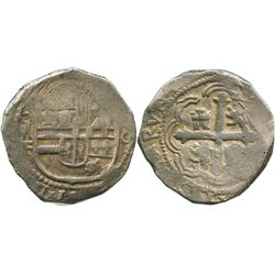 Mexico City, Mexico, cob 8 reales, 1613F.