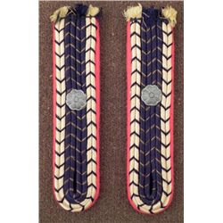 PAIR OF RAILROAD SHOULDER BOARDS