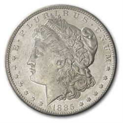 1885 UNC Morgan Silver Dollar