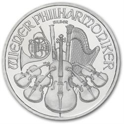 Silver 1 oz. Philharmonic Bullion