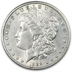 1889 P UNC Morgan Silver Dollar
