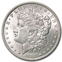 1889 UNC Morgan Silver Dollar