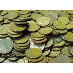Lot of 300 Wheat Cents