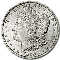 1882 UNC Morgan Silver Dollar