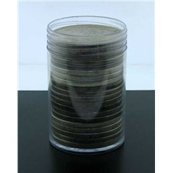 Roll of Morgan Silver Dollars - ag-au