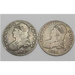 Early Date 1820-40 Bust Half (1 coin)