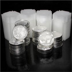 (80) Buffalo Silver Rounds - 999 Pure