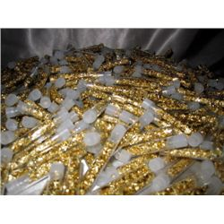 (100) Gold Leaf Vials- Non Bullion - Flakes
