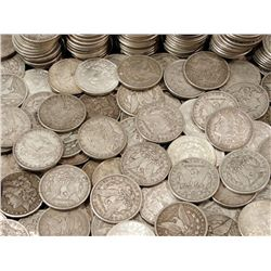 (100) Morgan Silver Dollars