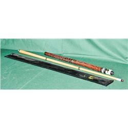 5pc billiards cue with case