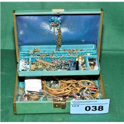 Jewelery box and contents