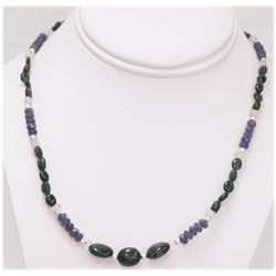 NATURAL 88.00 CTW TANZANITE AND MIXED SEMI-PRECIOUS NEC