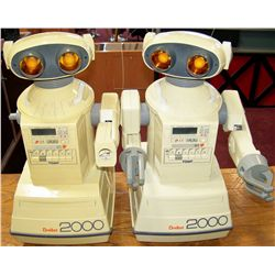 Two OMNIBOT 2000 Robots.