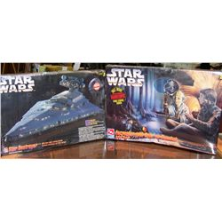 Two Star Wars Ertl Models.