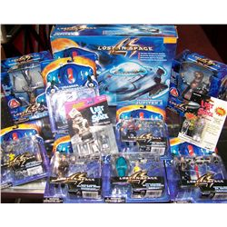 Eleven Assorted LOST IN SPACE Toys/Figurines.