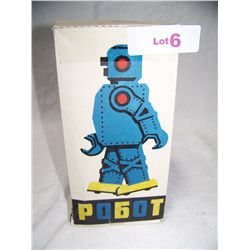 RUSSIAN MADE TOY ROBOT, IN ORIGINAL BOX