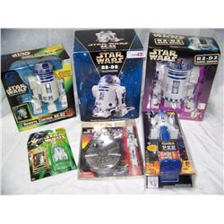 SIX PIECE R2-D2 LOT.