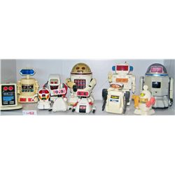 11 PIECE ASSORTED ROBOT LOT, AS SHOWN