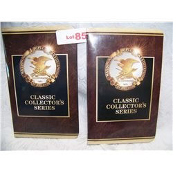 (2X$) N.R.A CLASSIC BRONZE COLLECTOR SERIES