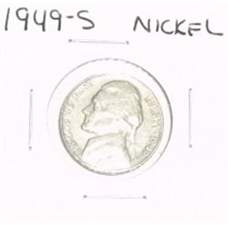 1949-S JEFFERSON NICKEL *RARE KEY DATE - PLEASE LOOK AT PICTURE TO DETERMINE GRADE*!!