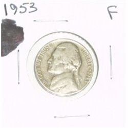 1953 JEFFERSON NICKEL *FINE GRADE*!!