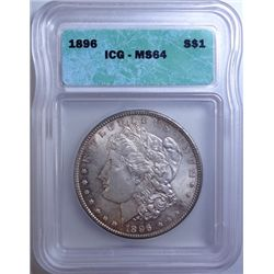1896 MORGAN $ ICG MS-64