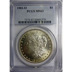 1901-O MORGAN DOLLAR MS63 PCGS