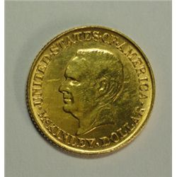 1916 MCKINLEY GOLD DOLLAR MS-62