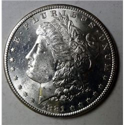 1881-S MORGAN DOLLAR CHOICE/GEM BU