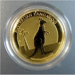 2012 AUSTRALIAN 1/10th OUNCE .999 GOLD KANGAROO