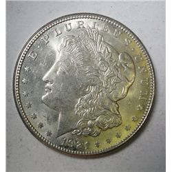 1921-S MORGAN DOLLAR GEM BU, EST. $65.00-$75.00