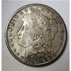 1881-S MORGAN DOLLAR GEM BU CHERRY, SUPER COLOR! $85.00-$95.00