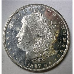 1887-O MORGAN DOLLAR GEM BU DMPL! EST. $200.00-$225.00